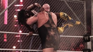getlinkyoutube.com-Kofi Kingston vs. Big Show - Steel Cage Match: Raw, June 11, 2012