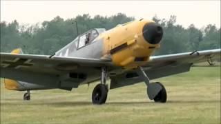 getlinkyoutube.com-75 year old Messerschmitt BF109 E4 flys again