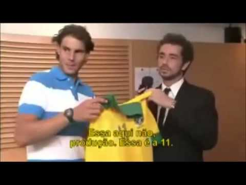Funny Interview with Rafael Nadal and Roger Federer at Roland Garros 2013