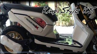 getlinkyoutube.com-All new honda zoomer x 110fi | honda zoomer x 2015 just modification part ks
