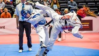 Taekwondo XXII Central American and Caribbean Games Veracruz 2014