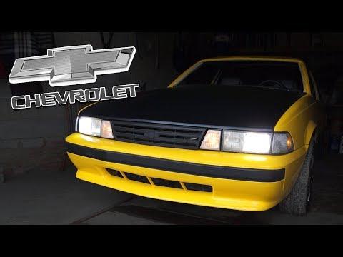 Последний истинный АМЕРИКОС - PONY CAR - Chevy Cavalier Coupe '89 - редкий Chevrolet