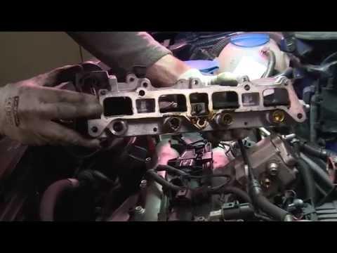 FSI. Замена бензиновой форсунки. VW. AUDI. SKODA, SEAT. Замена инжектора.Часть.1
