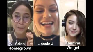 getlinkyoutube.com-Flashlight - Jessie J & Arisa & Jannine Weigel (Smule Sing! Karaoke App)