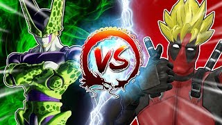 Deadpool VS Cell #CellGames | TeamFourStar