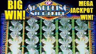 getlinkyoutube.com-SPARKLING NIGHTLIFE Slot - BIG WIN! - MEGA PROGRESSIVE WIN! - Slot Machine Bonus