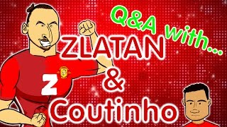 getlinkyoutube.com-ZLATAN Q&A (and some little dweeb called Coutinho) Man Utd vs Liverpool preview 2017