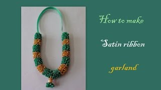 getlinkyoutube.com-Diy a satin ribbon garland