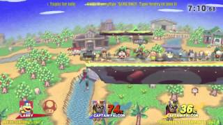 getlinkyoutube.com-(SLHG) 5/6/15 Slugfest KotH: C Falcon Ditto, ArtfulHobbes vs Juker126