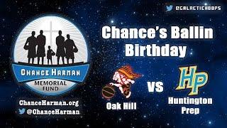 getlinkyoutube.com-HIGHLIGHTS: Oak Hill vs Huntington Prep | Chance Harman Memorial Fund