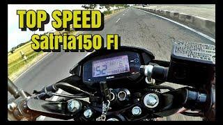 TOP SPEED SATRIA 150 FI | KENCENG BANGET EUY