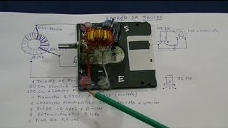 getlinkyoutube.com-Ladron de Joules Ajustable (Diagrama y construccion)--Adjustable Joule Thief ( construction)