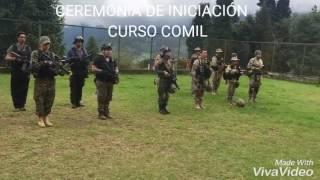 CEREMONIA DE INICIACION CURSO COMIL  005 / UTAM