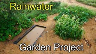 Rainwater Garden Project - Desert Permaculture 2015