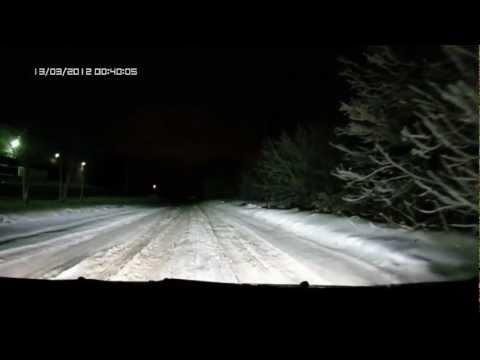 Адаптивные фары на Форд Фокус 2 рестайл(ночь)