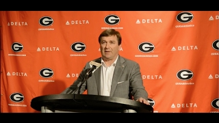 getlinkyoutube.com-Georgia Head Coach Kirby Smart addresses the media on National Signing Day