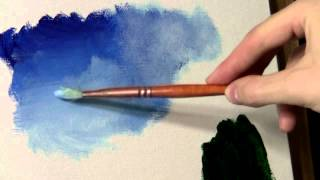 getlinkyoutube.com-Blending and Scumbling - Acrylic Painting Lesson