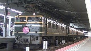 トワイライトエクスプレス入線・発車・通過シーン