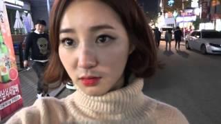 getlinkyoutube.com-[4] 미스코리아 '김정진'과 함께하는 방송 후 소고기 먹방  - KoonTV