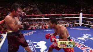 getlinkyoutube.com-Pacquiao vs Dela Hoya Round 8