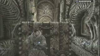 "getlinkyoutube.com-Gears of War 2 deleted scene ""Road To Ruin"" stealth option Part 2"