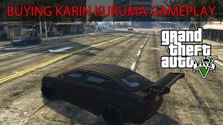 getlinkyoutube.com-GTA 5 ONLINE - BUYING THE KARIN KURUMA GAMEPLAY (Grand Theft Auto 5)