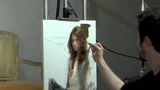 getlinkyoutube.com-Casey Baugh Demo at Scottsdale Artists' School