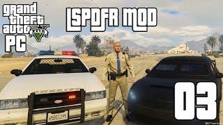 حرامي السيارات الخامس: مود الشرطة - الشريف والكوروما | GTA V LSPDFR Mod #3