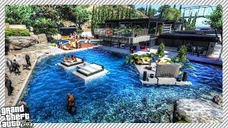getlinkyoutube.com-Luxury Party Mansion - GTA 5 MOD