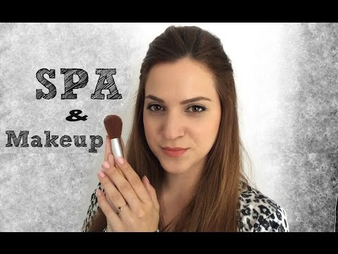 SPA & Makeup Role-play in Greek ASMR