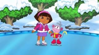 getlinkyoutube.com-Dora's Ice Skating Spectacular Trailer
