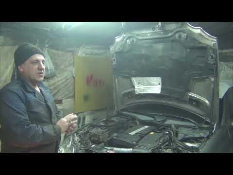 Mercedes C200 не включается АКПП 722.6. Действительно ли менялось масло в АКПП?