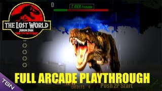 getlinkyoutube.com-The Lost World: Jurassic Park Arcade Game - Full Playthrough (Sega Arcade Classic)