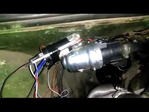 Электропомпа от Газели в ВАЗ-2102 с терморегулятором