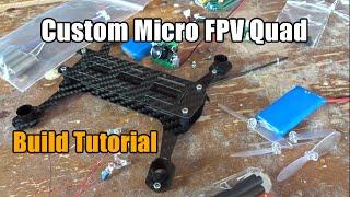 getlinkyoutube.com-Custom Micro FPV Quad: Build Tutorial