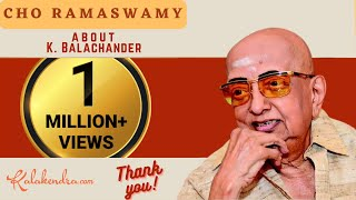 getlinkyoutube.com-Kalakendra | Hillarious Talk by Cho about Director K Balachander