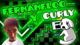 FERNANFLOO Y CURLY - Geometry Dash - Fernanfloo 2 By IXxDrawingxXl