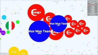 getlinkyoutube.com-Agar.io - How easy is teaming?