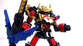 getlinkyoutube.com-これはすごい!手裏剣戦隊ニンニンジャー ファイティングアクションロボ キングシュリケンジン Fighting Action Robot King Shurikenjin