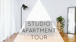 getlinkyoutube.com-Minimalist Studio Apartment Tour | ZERO WASTE