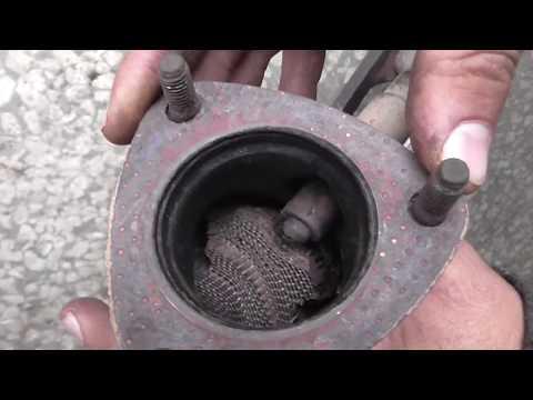 Как удалить металлизированный катализатор ваз