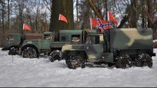 getlinkyoutube.com-RC AXIAL scx10 1/10 trucks snow scale drive