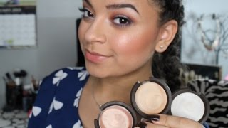 getlinkyoutube.com-Becca Highlighter l Shimmering Skin Perfector Poured