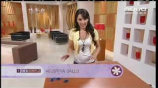 getlinkyoutube.com-Utilísima Bien Simple, Nova, Lámpara con botellas, Agustina Gallo