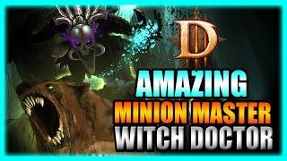 getlinkyoutube.com-Diablo 3 - Amazing Minion Master Returns! Witch Doctor T10 Rift Farming Build - Patch 2.3 Gameplay