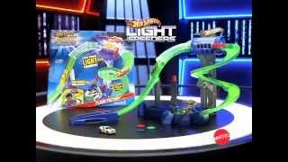 getlinkyoutube.com-Brinquedos PeriCenter - Hot Wheels Light Speeders Camara de Luz Mattel