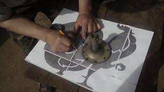 Флюгер ветряк своими руками (часть 1)Eigenbau Wintrad