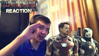 """getlinkyoutube.com-Reaction   Тизер-Трейлер """"Marvel's Captain America: Civil War/Первый Мститель: Противостояние"""""""