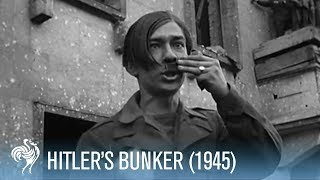 getlinkyoutube.com-British Soldiers Discover Hitler's Bunker (1945)