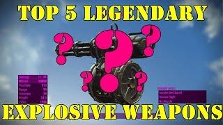 getlinkyoutube.com-Fallout 4: Top 5 Explosive Weapons